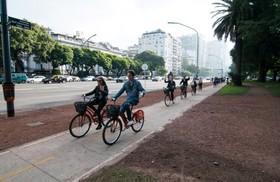 自転車でまわる!ブエノスアイレス<北>