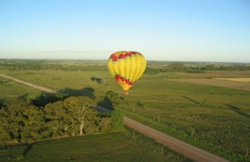 熱気球体験 ブエノスアイレスの田舎の景色を満喫しよう