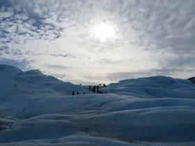 ペリト・モレノ氷河でミニトレッキング体験!【期間限定8月~5月】