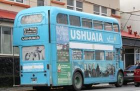2階建てバスに乗ってウシュアイア市内観光!【期間限定11月~4月】