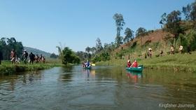 ルワンダの自然を満喫する!半日カヌーツアー【ムサンゼ発着/午前または午後】