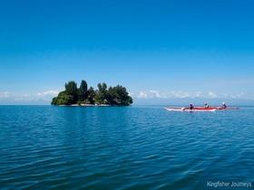 キブ湖コーヒー島を巡る1泊2日カヤックツアー【ギセニ発】