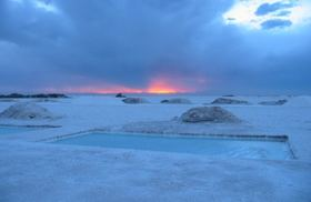 アルゼンチンのウユニ塩湖、サリーナス・グランデス!
