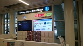 **タクシーよりも断然お得!**シドニー空港からシドニーホテル間シャトルバス片道空港送迎