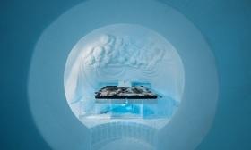 冬季限定!アイスホテル アートスイート 宿泊【氷の部屋1泊+往復空港送迎/12月~4月】