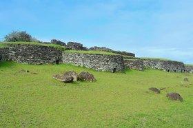 イースター島の聖域 オロンゴ儀式村半日ツアー
