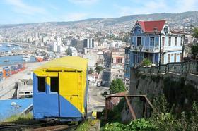 ビーニャ・デル・マルとバルパライソ2都市巡り/ビーチリゾートと世界遺産の港町へ