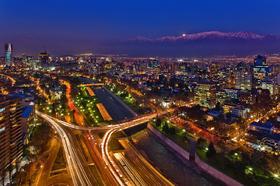 サンティアゴの夜景を楽しむ市内観光【3コースディナー付き】