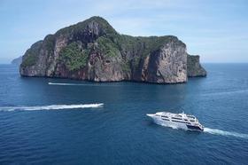 ピピ島1日周遊観光 (シーエンジェルビヨンド船・普通席)