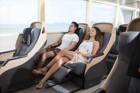 55席限定・豪華な席でゆったりピピ島1日周遊観光 (シーエンジェルビヨンド船・ゴールド席)