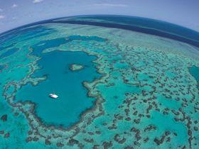 【世界遺産】ハートリーフ&ホワイトヘブンビーチを満喫するドリームツアー by 水上飛行機(ハミルトン島発着)