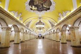 地下鉄に乗ってモスクワ市内観光【日本語ガイド】