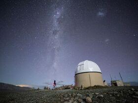 【テカポ発】満点の星空・星の街として有名なテカポ湖で星空観察・マウントジョン天文台【日本語ガイド】