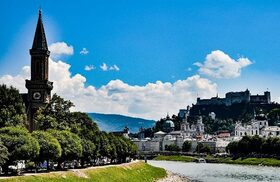 音楽家モーツァルト生誕地 ザルツブルクを訪れる1日【ウィーン発 / 英語ガイド / 混載】