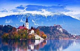 ウィーン発 隣国スロベニア リュブリャナとブレッド湖を訪れる1日【英語ガイド / 混載】