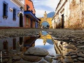 コロニアル調の街 アンティグアを巡る1日【グアテマラシティ発/ アンティグア発】