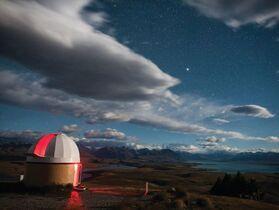 【クライストチャーチ発】有名なテカポ湖・マウントジョン天文台で星空観察!オーロラも見られるかも?