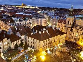 ウィーン発着 周遊の旅! プラハとブダペスト 3日間【列車 / LCC / 宿泊2泊】