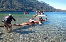 グティエレス湖でのカヤックと乗馬体験【英語ガイド】