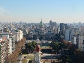 上空から市内を一望!パラシオバローロ見学ツアー【英語ガイド】