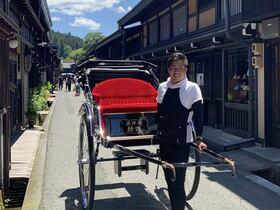 人力車でGo!高山ロマン観光【岐阜県高山市】