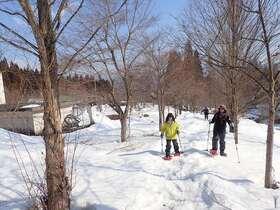 ふかふかの雪の上を散歩!飛騨里山スノーシュー【岐阜県飛騨市】
