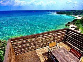 一度は行きたい!沖永良部島1番の絶景ポイントに佇むカムカメ宿泊予約