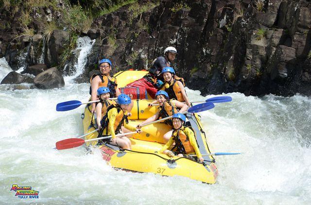 タリー川1日ラフティング [世界遺産・熱帯雨林を川くだり]