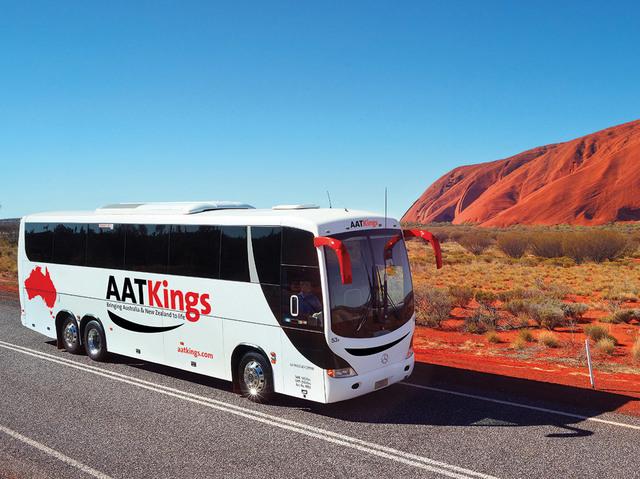 エアーズロックリゾートからエアーズロック空港までの日本語ガイド付きバス送迎