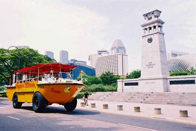 シンガポールダックツアー
