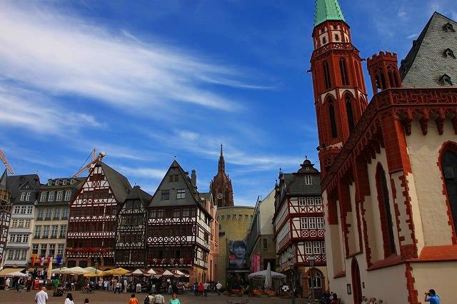 旧市街散策・歩いてわかるフランクフルト