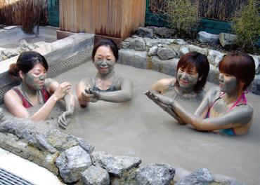 ヘルズゲート - マオリ癒しの湯・泥湯と硫黄温泉 [ロトルア発]