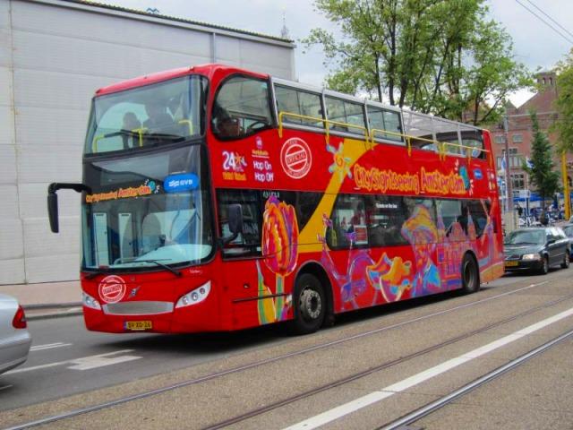 アムステルダム市内観光バス 乗り放題チケット
