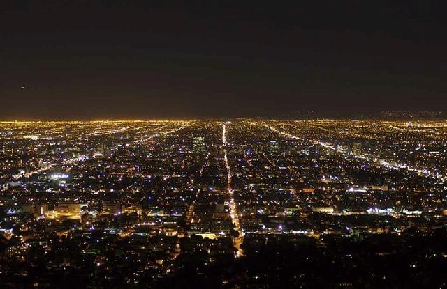 グリフィス天文台からの夜景とショッピング