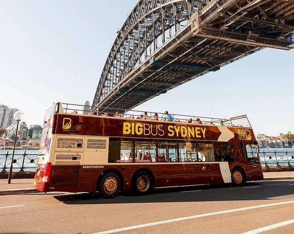 シドニーエクスプローラー&ボンダイエクスプローラー 乗り降り自由!2階建てオープントップバス