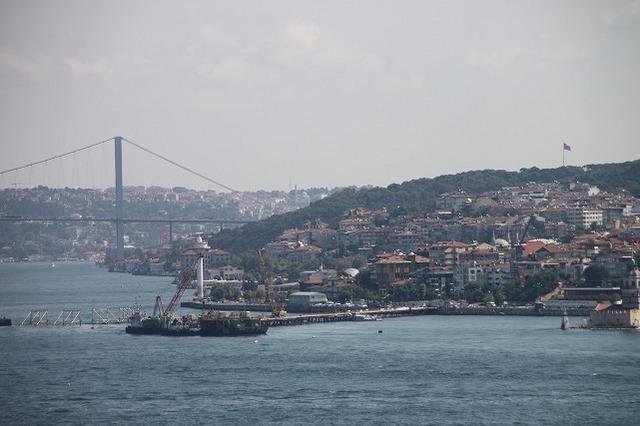 ボスポラス海峡クルーズとイスタンブール市内観光の1日(ドルマバフチェ宮殿、オルタキョイ、ボスボラス大橋) 専用車利用&日本語プライベートガイド付き