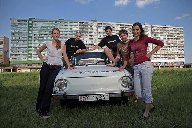 70年代レトロカー【シュコダ】で周る旧社会主義政権スロヴァキアの首都ブラチスラバ2時間観光ツアー