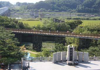 統一展望台&自由の橋ツアー