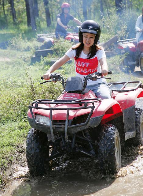 4輪バギー(ATV)でジャングル走行