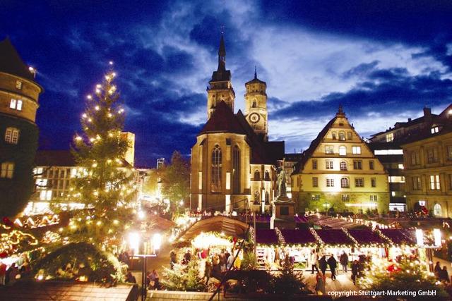 シュトゥットガルトとエスリンゲンのクリスマスマーケット