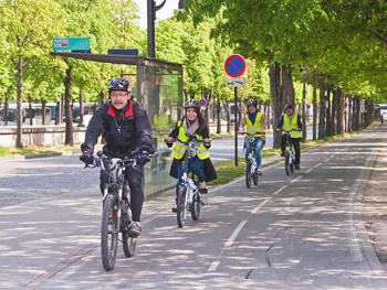 自転車パリ市内観光[日本語]