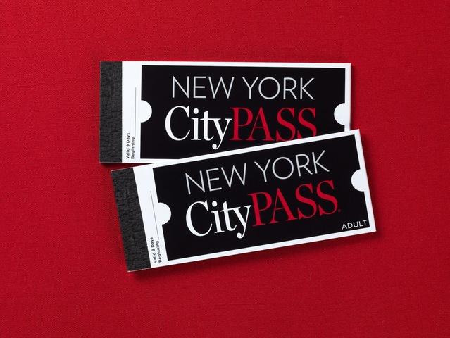 ニューヨーク シティパス(エンパイアステートビル等名所6か所の入場券冊子)