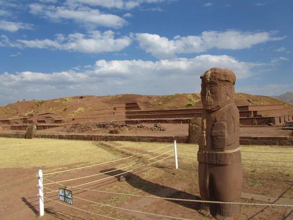 世界遺産ティワナク遺跡1日観光