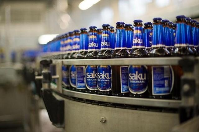 エストニアを代表するビールブランド「サク」の醸造所にてテイスティングツアー
