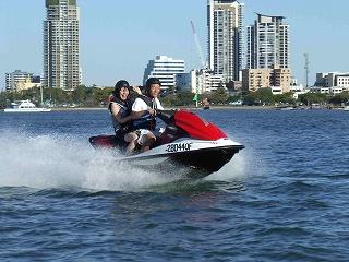 ジェットスキー + ジェットボート