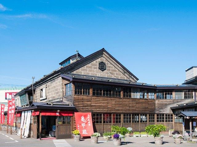 「田中酒造・亀甲蔵(きっこうぐら)」見学!【北海道小樽市】
